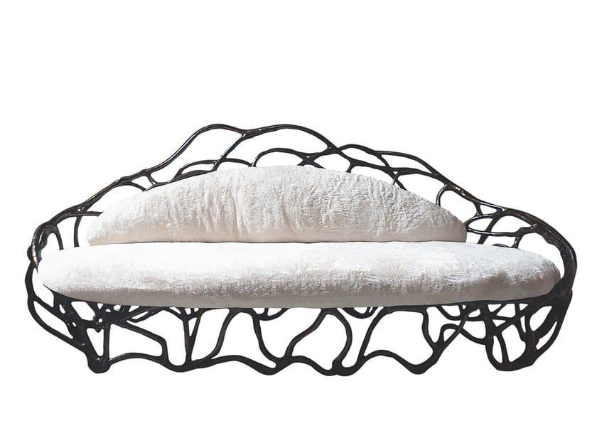 Fiberglass sofa ELIPSE K1061 by KARPA