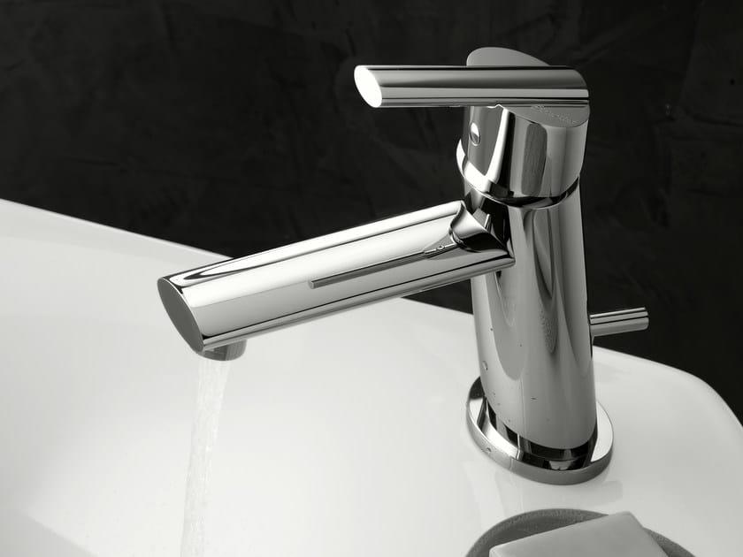 Washbasin mixer with automatic pop-up waste ELIS | Washbasin mixer by Signorini