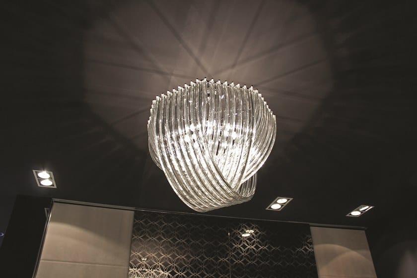 Crystal pendant lamp ELISABETH | Pendant lamp by Longhi