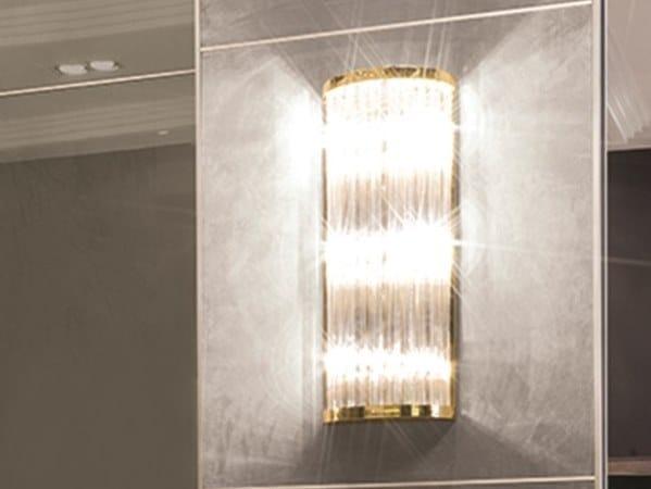 Crystal wall light ELISABETH | Wall light by Longhi