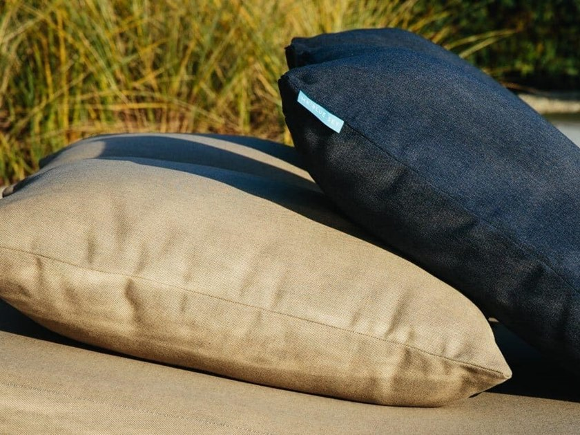 Rectangular outdoor fabric cushion ELISE by MR BLUE SKY