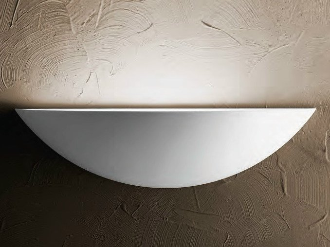 Indirect light wall light ELISSE   Gypsum wall light by Aldo Bernardi