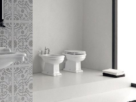 Ceramic toilet ELLADE | Toilet by Hidra Ceramica