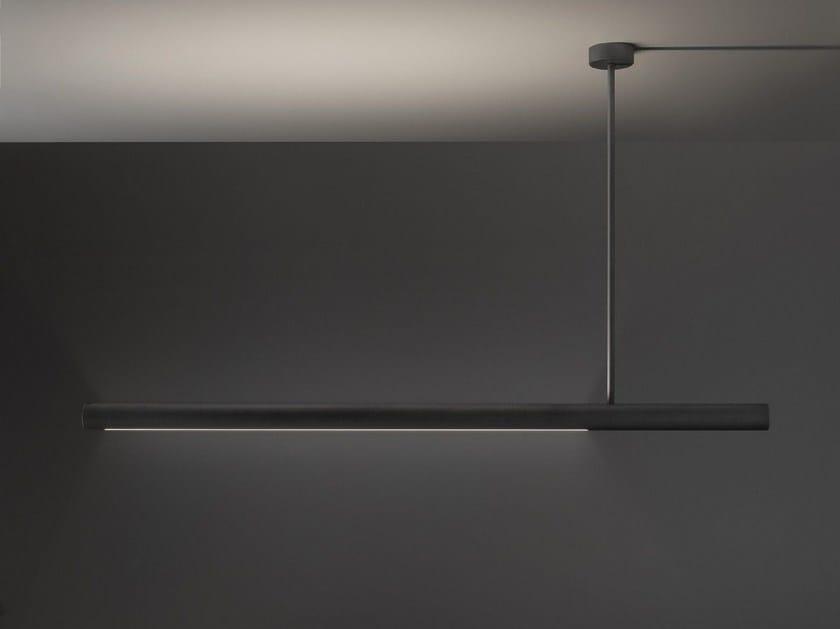 LED direct-indirect light pendant lamp ELLE by Olev