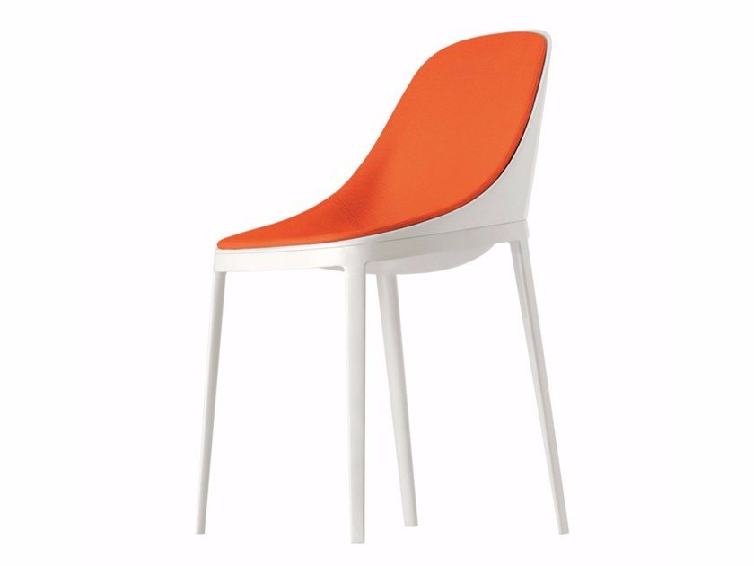 Upholstered chair ELLE SOFT - 071 by Alias