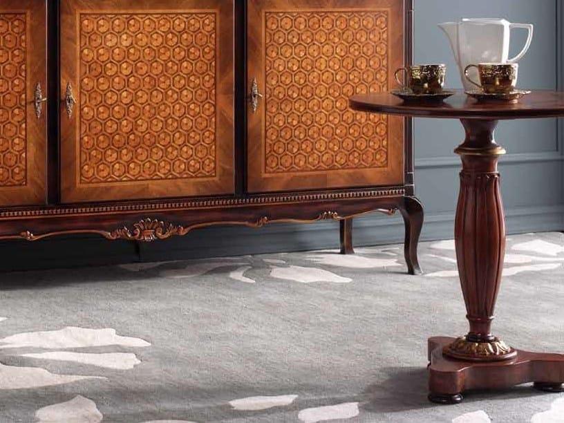 Tavolino rotondo in legno massello ELLEN by Arvestyle