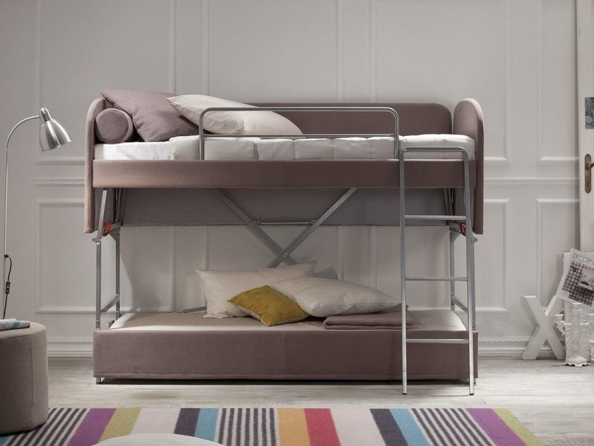 Fabric sofa bed ELLEN by Felis