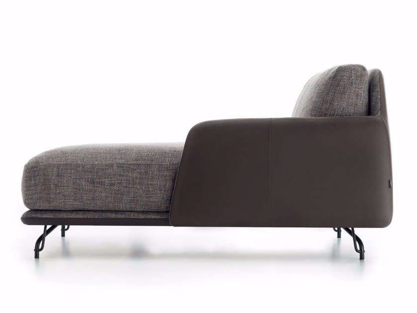 Upholstered fabric day bed ELLIOT | Day bed by Ditre Italia