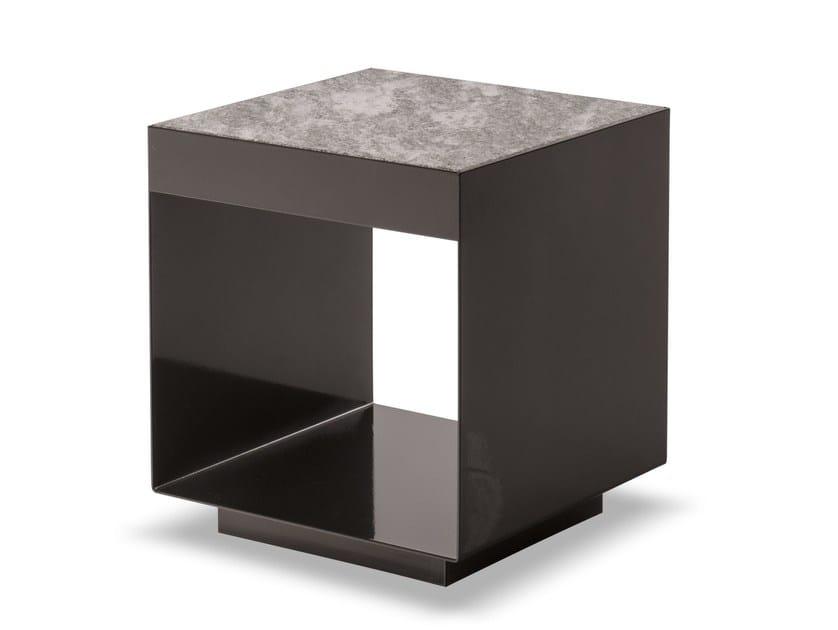 Outdoor side table ELLIOTT OUTDOOR by Minotti
