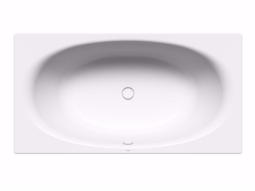 Enamelled steel bathtub ELLIPSO DUO by Kaldewei Italia