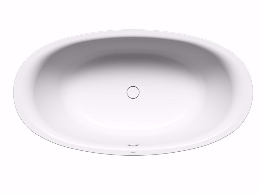 Freestanding oval bathtub ELLIPSO DUO OVAL by Kaldewei Italia