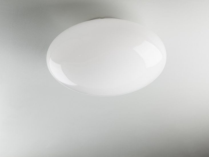 Methacrylate ceiling lamp ELLISSE | Ceiling light by ENGI