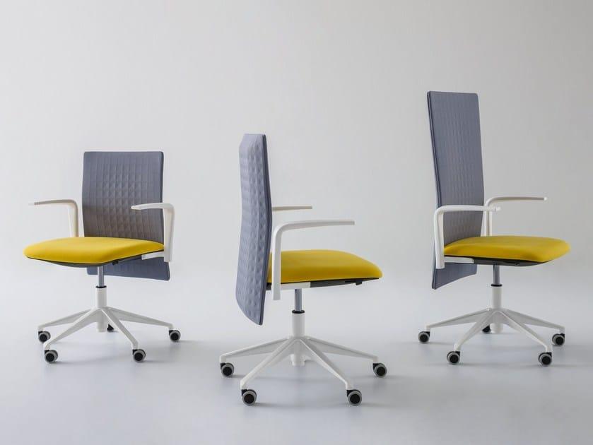 Sedia ufficio operativa ad altezza regolabile a 5 razze ELODIE | Sedia ufficio operativa by GABER