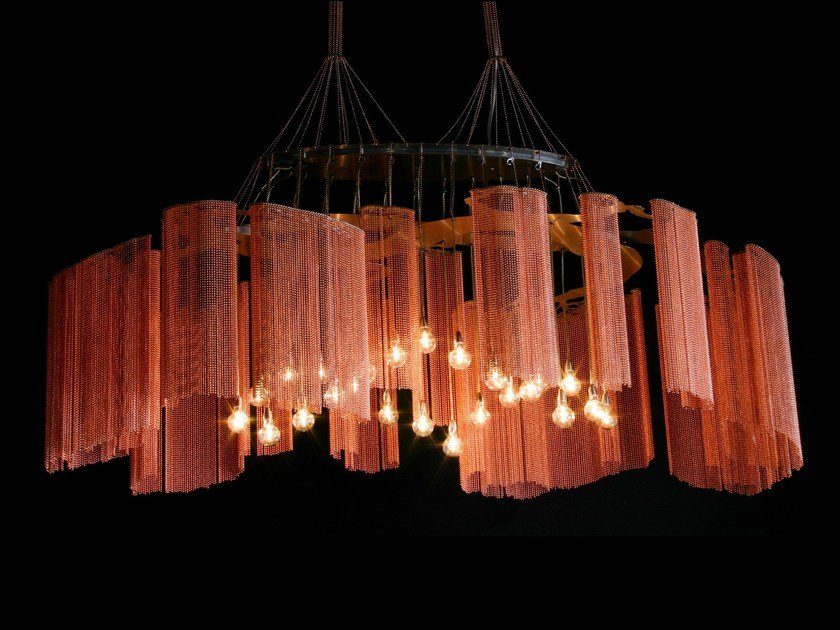 Chandelier ELONGATED FARAWAY TREE by Willowlamp