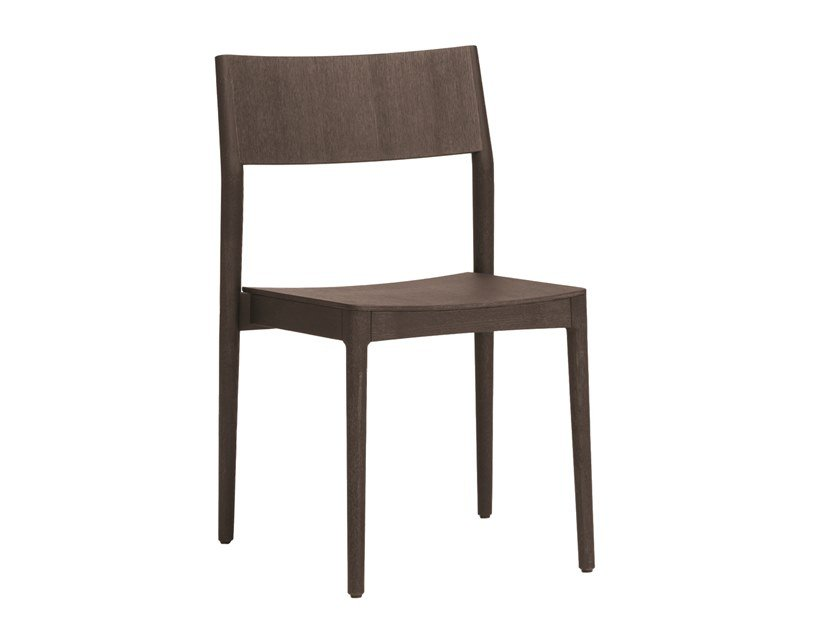 Wooden chair ELSA | CONTRACT | Wooden chair by PIAVAL