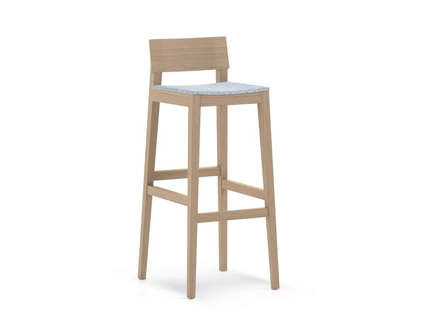 High barstool with footrest ELSA | HEALTH & CARE | Stool by PIAVAL