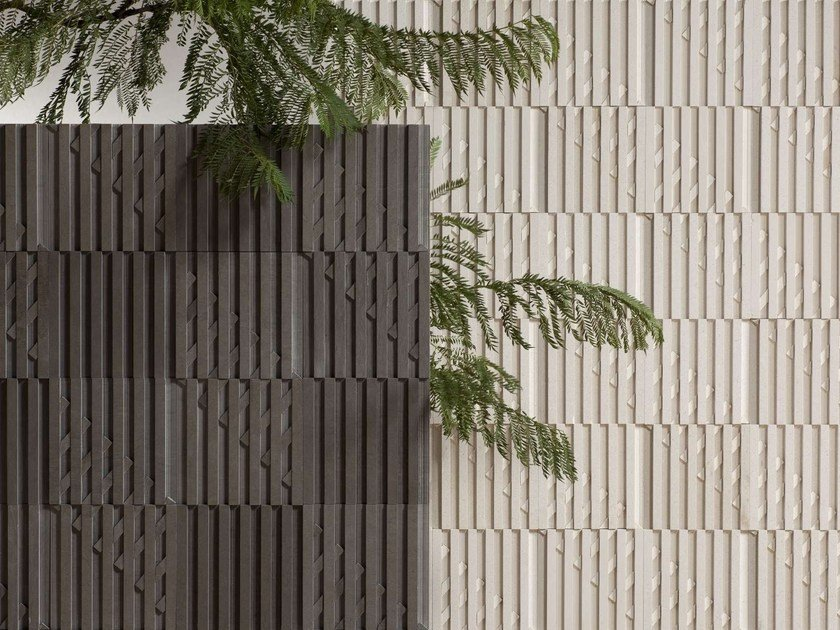Wall tiles with stone effect ELUSINE by Harmony