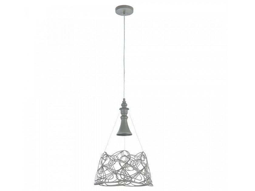 Painted metal pendant lamp ELVA by MAYTONI