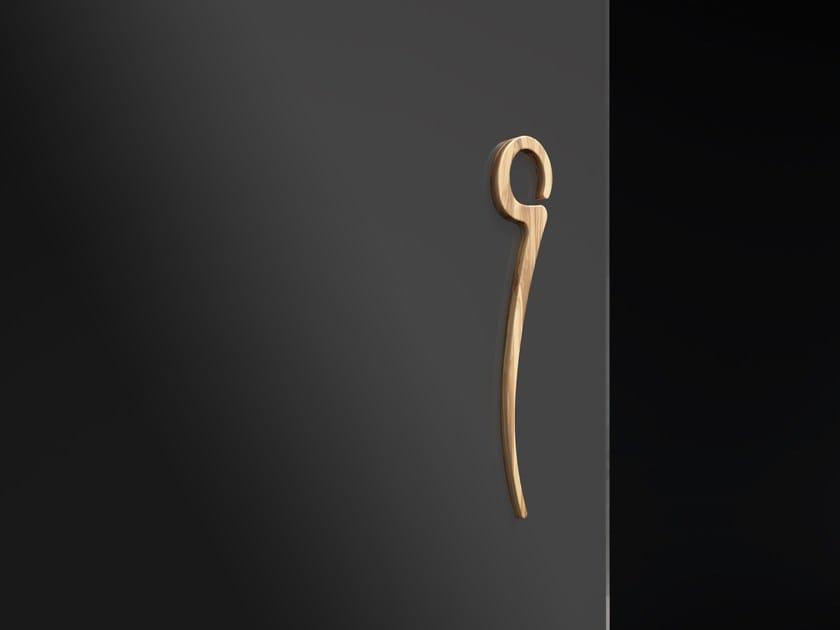 Wooden glass door handle ELVIRA by FOA