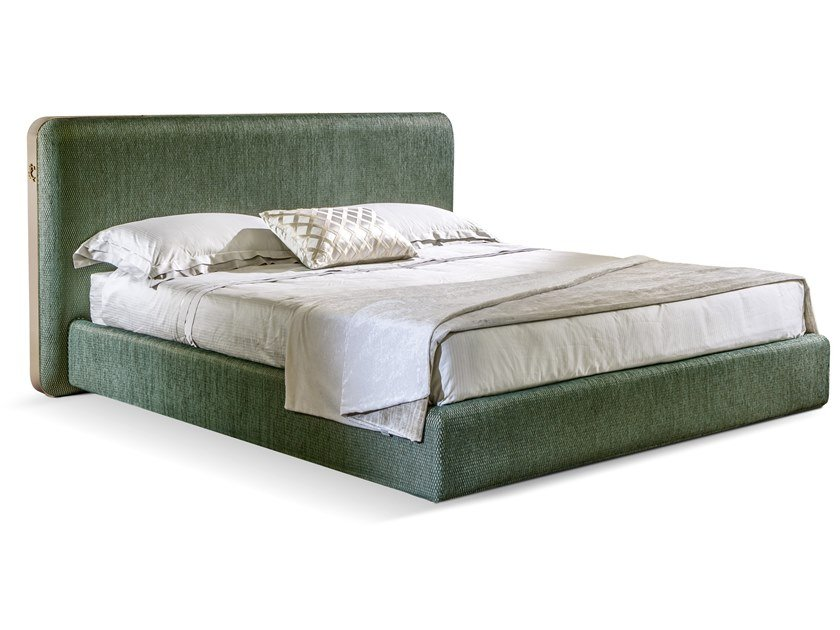 Upholstered fabric bed double bed ELVIS | Bed by Cantori