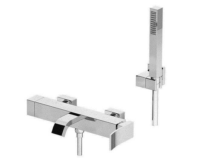 Miscelatore per vasca a muro con doccetta ELY | Miscelatore per vasca by Gattoni Rubinetteria