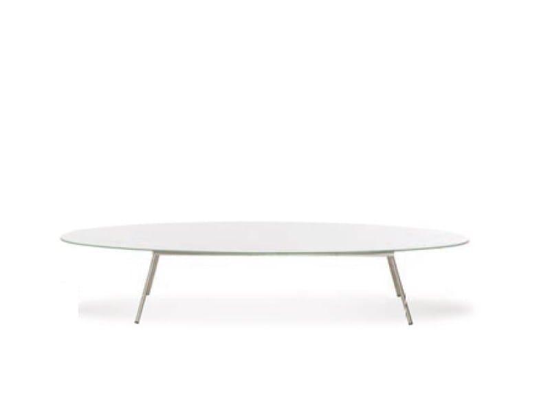 Low oval coffee table ELYPS | Coffee table by Joli
