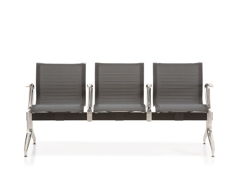 Freestanding beam seating EM202 SB | Freestanding beam seating by Emmegi