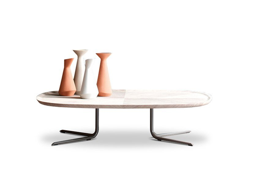 Rectangular wooden coffee table EMBRASSE | Coffee table by ESTEL GROUP