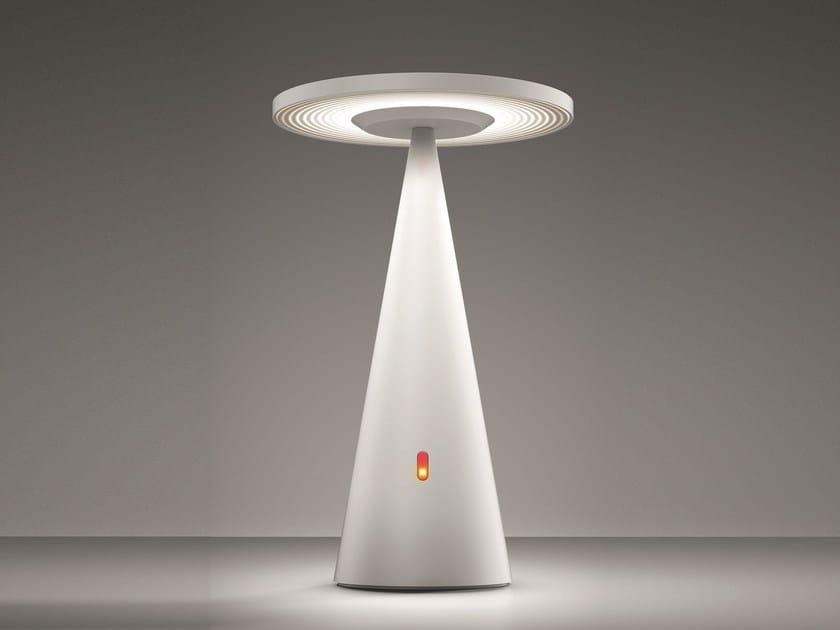 LED direct light technopolymer floor lamp EMERA by Artemide