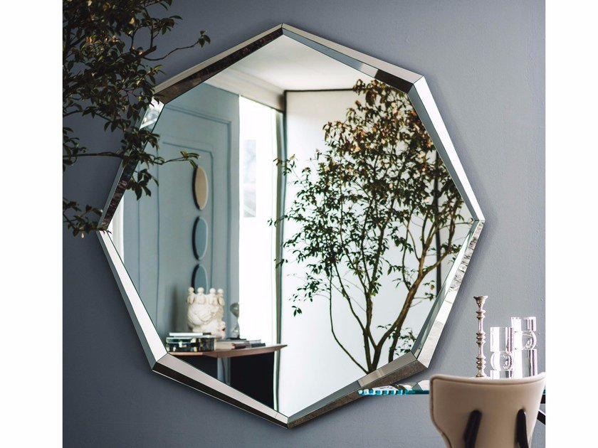 Framed mirror EMERALD MAGNUM by Cattelan Italia