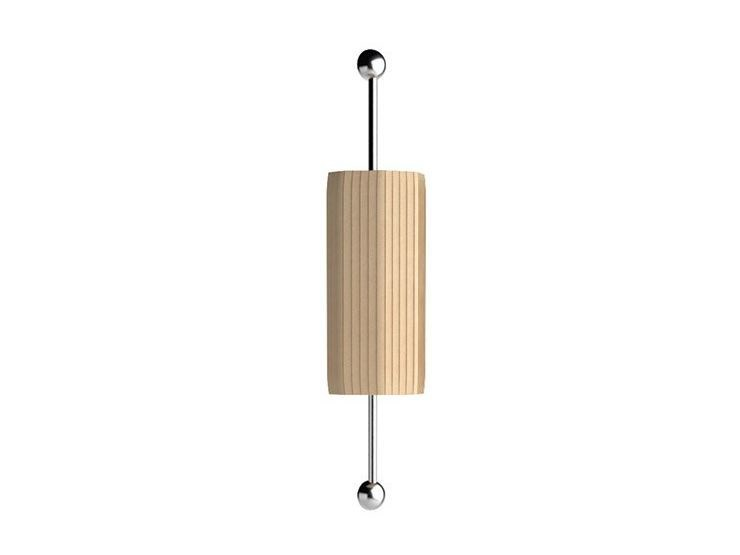 Contemporary style direct-indirect light steel wall light with fixed arm EMERALD | Wall light with fixed arm by Caroti