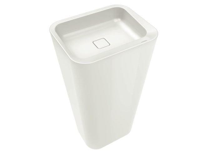 Freestanding enamelled steel washbasin EMERSO | Freestanding washbasin by Kaldewei Italia