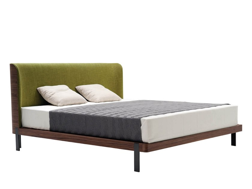 Bed with upholstered headboard EMMA | Bed by HC28