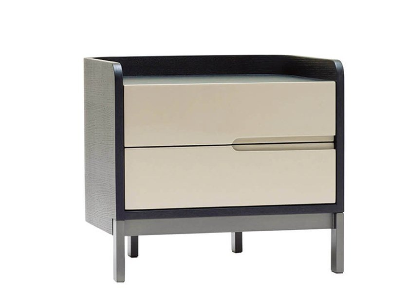 Lacquered bedside table EMMA   Bedside table by HC28