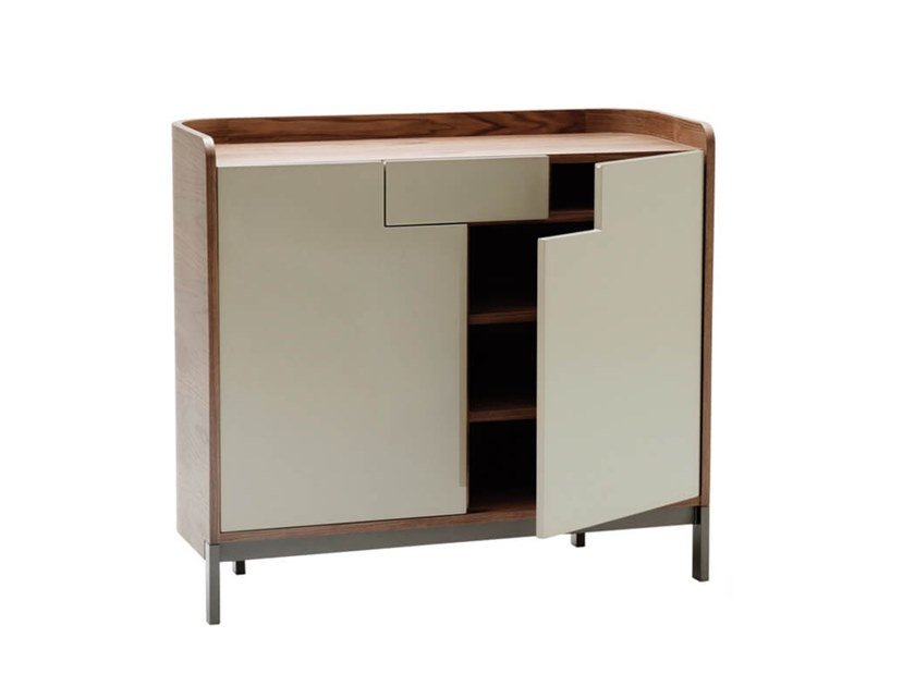 Lacquered plywood highboard EMMA   Highboard by HC28