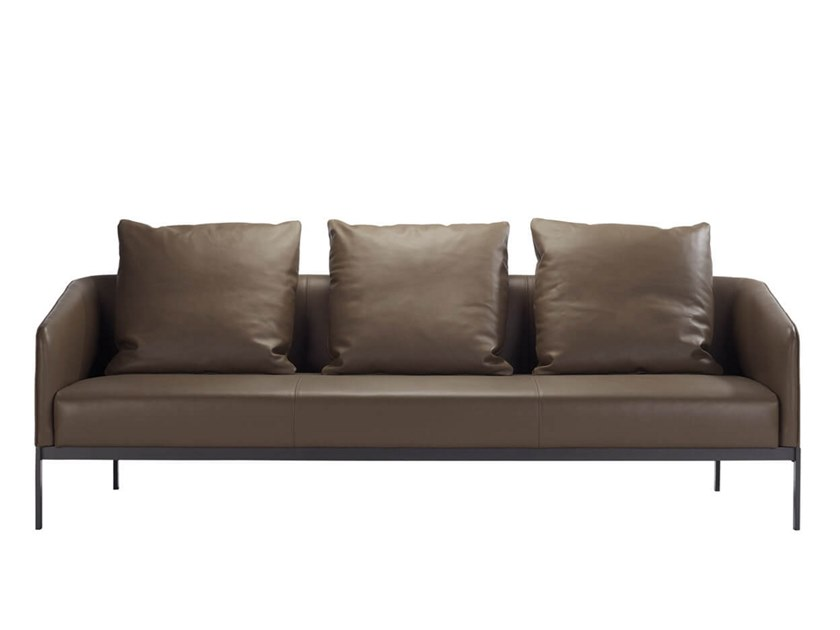 Leather sofa EMMA | Leather sofa by HC28