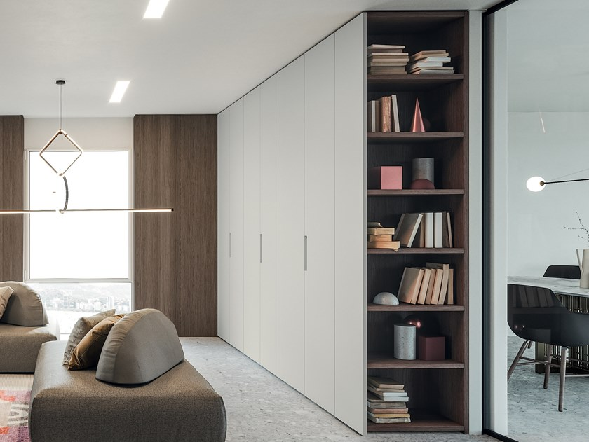 Lacquered wardrobe EMOTION UP EM10 by Dall'Agnese