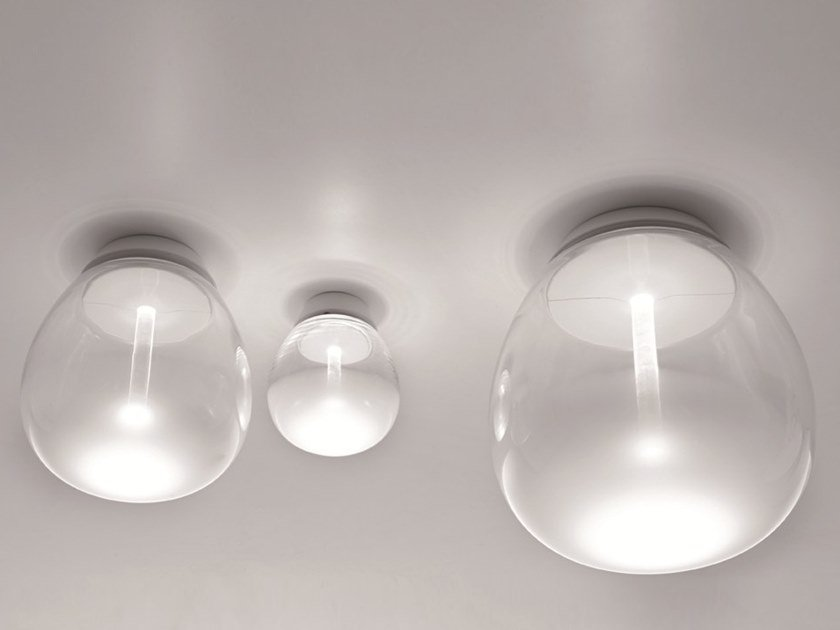 Blown glass wall lamp / ceiling lamp EMPATIA | Ceiling lamp by Artemide