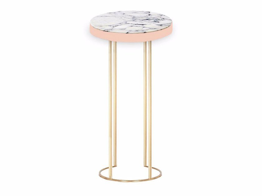 Round marble table EMPIRE by Moanne