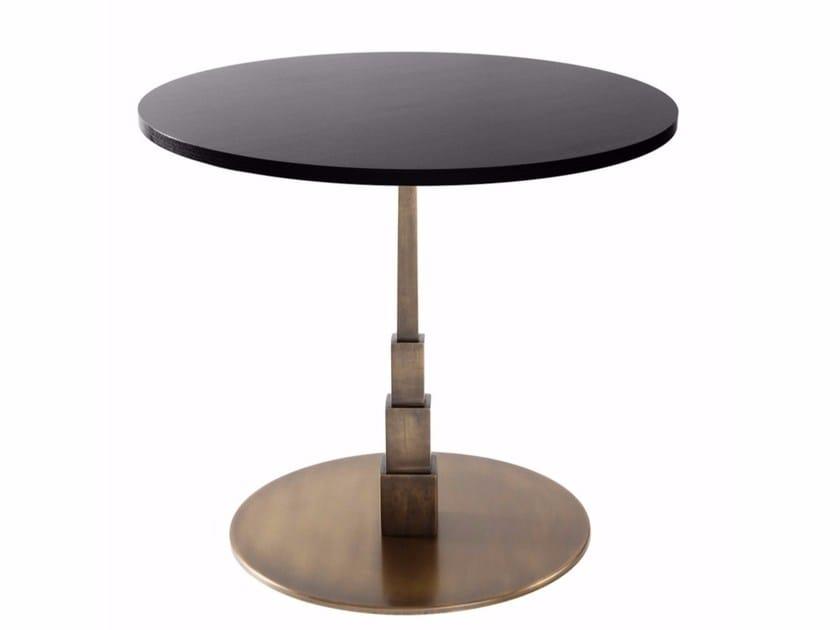 Round cast iron table EMPIRE | Round table by Vela Arredamenti