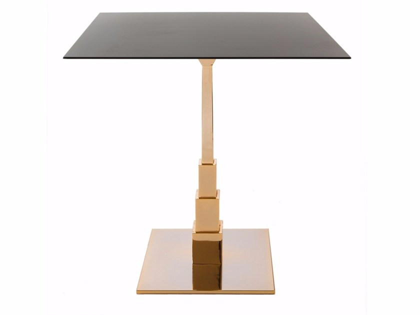 Square table EMPIRE by Vela Arredamenti