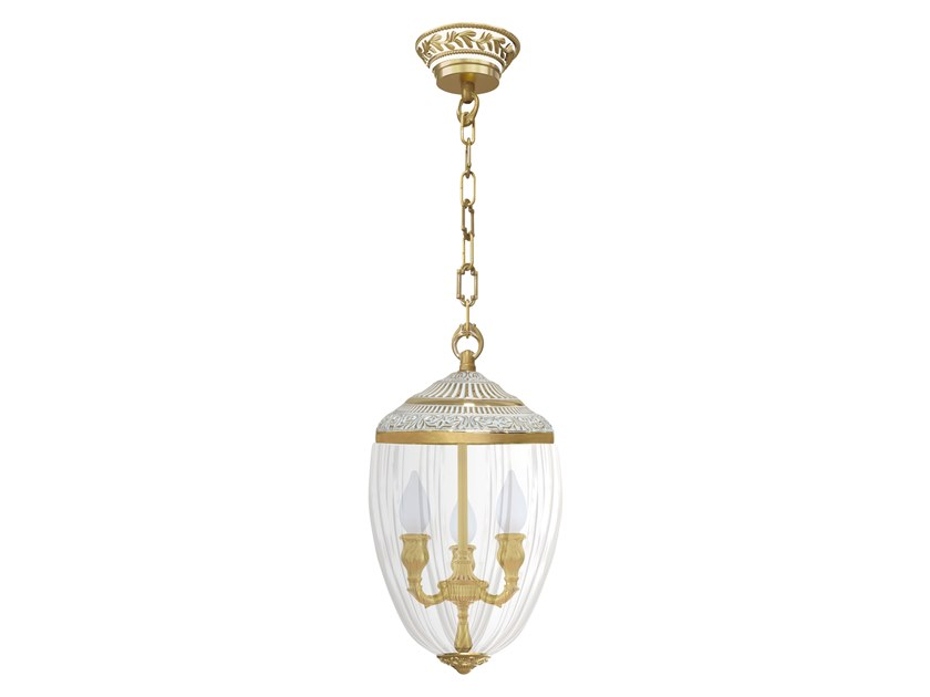 Brass pendant lamp EMPORIO CHANDELIERS | Pendant lamp by FEDE