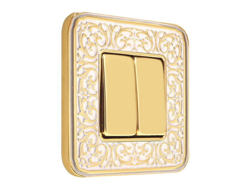 Brass wiring accessories EMPORIO by FEDE