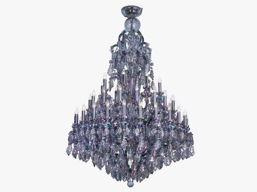 Glass chandelier EMPRESS by Lasvit