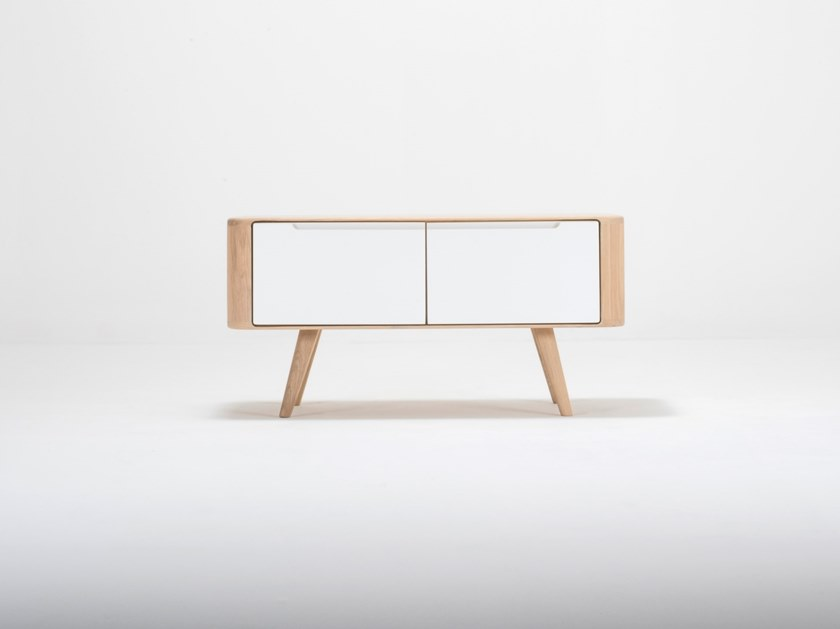 Storage Oak Bench ENA | Bench By Gazzda
