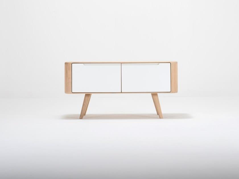 Storage oak bench ENA | Bench by Gazzda