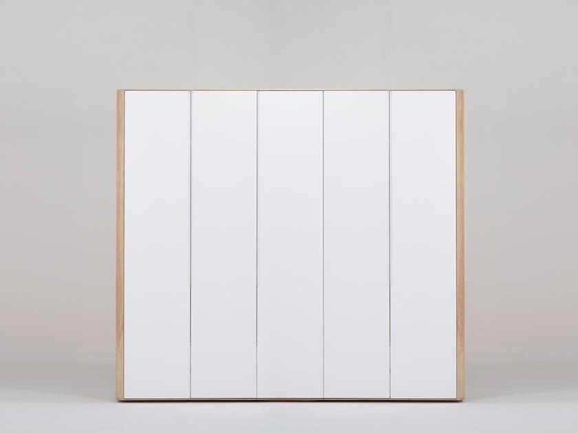 Sectional lacquered wardrobe ENA   Sectional wardrobe by Gazzda