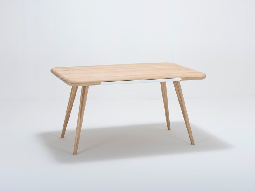 Rectangular table with drawers ENA ONE | Table by Gazzda