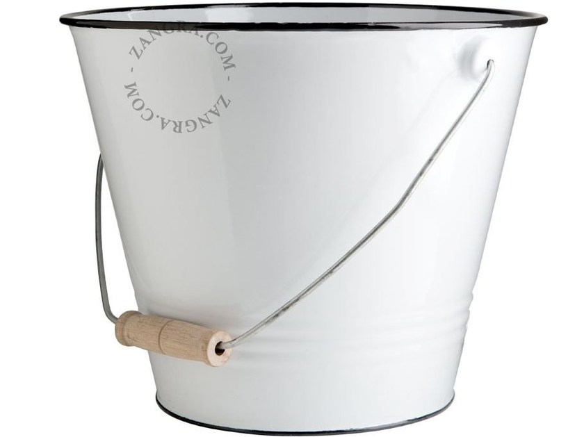 Garden bucket ENAMEL BUCKET by ZANGRA