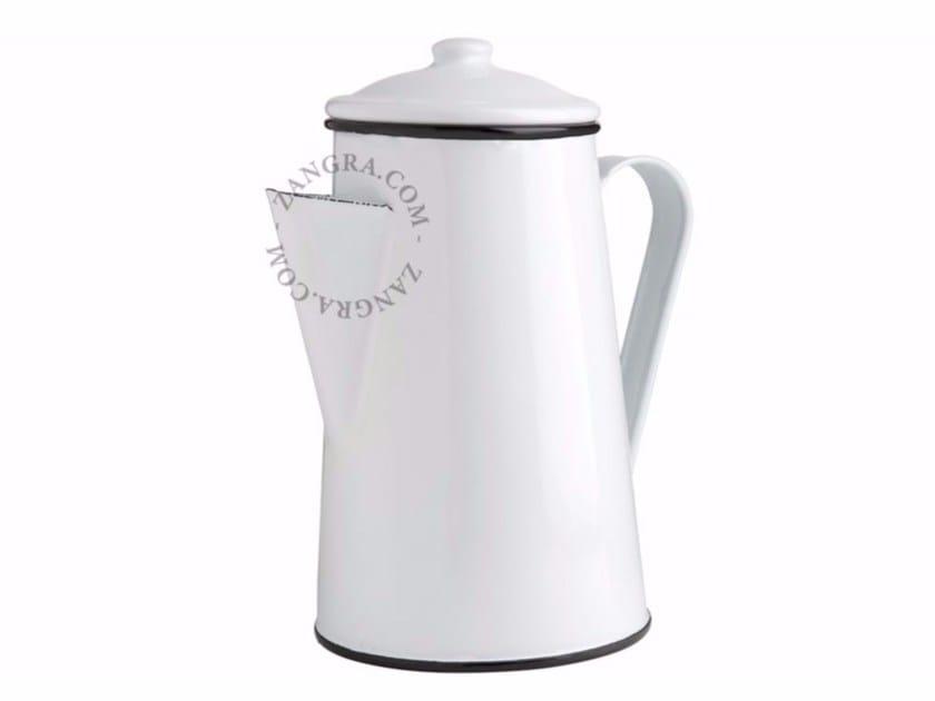 Enamelled metal teapot ENAMEL COFFEEPOT by ZANGRA